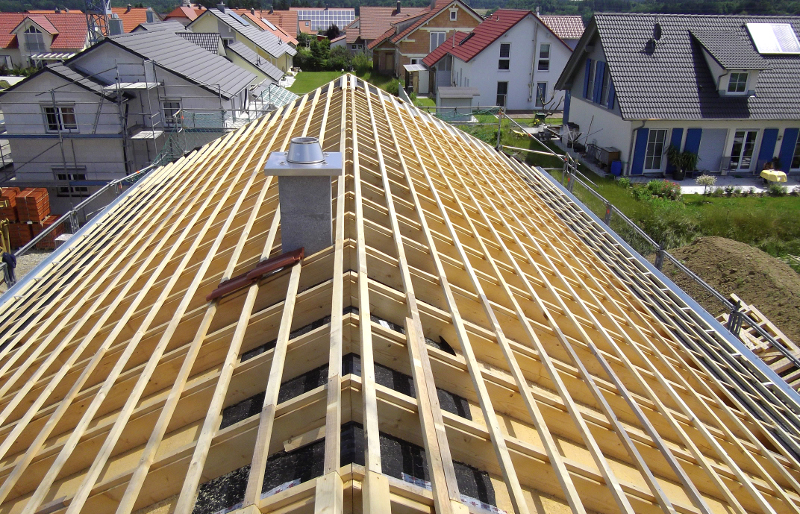 Holzhausbau